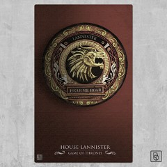Game of Thrones Houses x 3 - Renovo Colgables