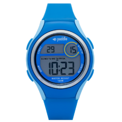 reloj digital unisex paddle watch azul