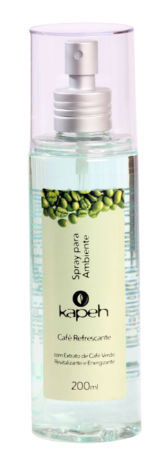 Spray Ambiente Café Refrescante Kapeh 200ml