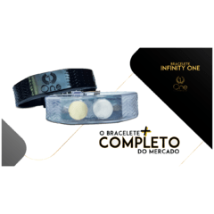 Pulseira Magnética - Bracelete - Infinity The One