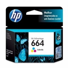 Cartucho Original HP 664 - COLOR