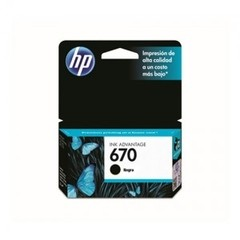 Cartucho Original HP 670 - NEGRO