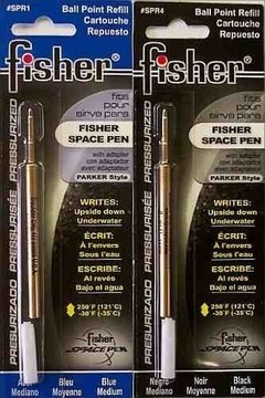 REPUESTO DE BOLIGRAFO FISHER SPACE PEN AZUL