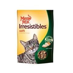 MEOW MIX IRRESISTIBLES SOFT CON PAVO 85 gr