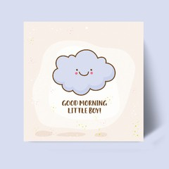 Placa MDF - Good Morning Boy - comprar online