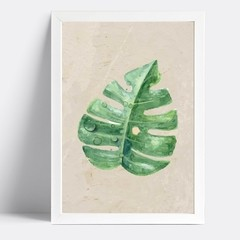 Quadro Watercolor Leaf