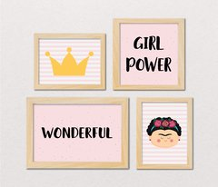 KIT MENINA #8 - GIRL POWER na internet