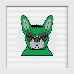 Quadro Dog Hulk na internet