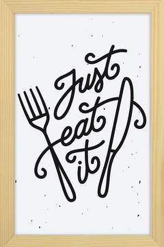 Quadro Just eat it - Arteira Design