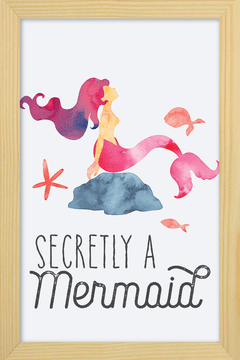 Quadro Secretly a Mermaid na internet