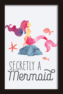 Quadro Secretly a Mermaid - Arteira Design