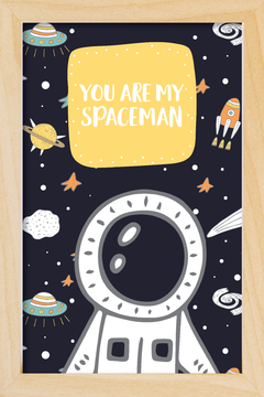 Quadro You are my Spaceman - loja online
