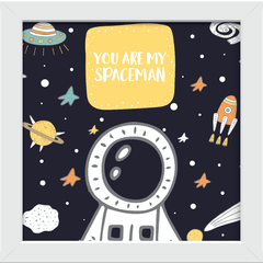 Quadro You are my Spaceman na internet