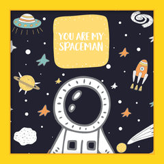 Imagem do Quadro You are my Spaceman