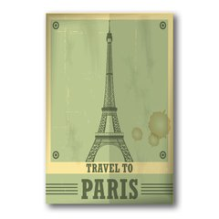 PLACA TRAVEL PARIS - comprar online
