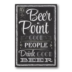 PLACA POINT BEER - comprar online