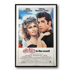 PLACA FILME GREASE