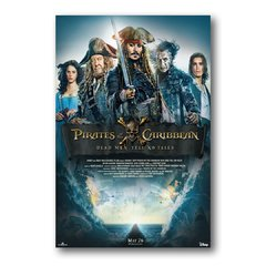 PLACA FILME PIRATAS DO CARIBE