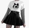 Remera Unisex cat bad luck
