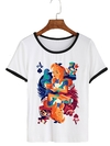 Remera Dama Ringer Alice Card