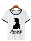 Remera Dama Ringer Anne with an E Shadow