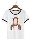 Remera Dama Ringer Anne with an E Vector - comprar online