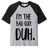 Remera Unisex Ranglan Billie Eilish Bad Guy