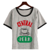 Remera Dama Ringer Friends Central Perk Simple
