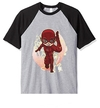 Remera Unisex Ranglan Flash Chibi