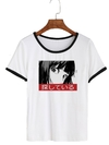 Remera Dama Ringer Japanese Eyes