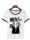 Remera Dama Ringer Ghibli  No Face Japan