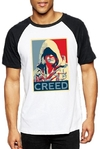 Remera Unisex Ranglan Assassin´s Creed Poster