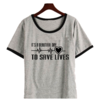 Remera Dama Ringer Grey´s Anatomy Save Lives