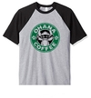 Remera Unisex Ranglan Stitch Ohana Coffee