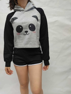 Buzo Corto Adulto Panda Kawaii Cute