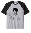 Remera Unisex Ranglan The Promised Neverland anime Ray Corazon