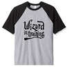 Remera Unisex Ranglan Harry Potter Wizard In Training