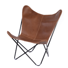 BUTTERFLY CHAIR · A S S A M B L E · WHISKY