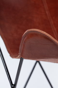 BUTTERFLY CHAIR · C O V E R · LEATHER - CALMA CHICHA