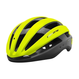 Capacete High One Wind Aero c/ Led - Amarelo