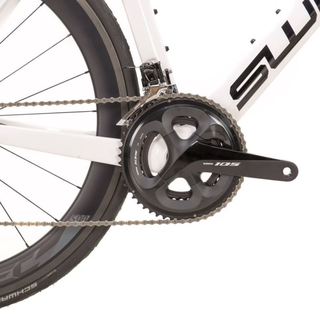 Bicicleta Swift Carbon Hypervox Caliper 2021 - Branco/Preto