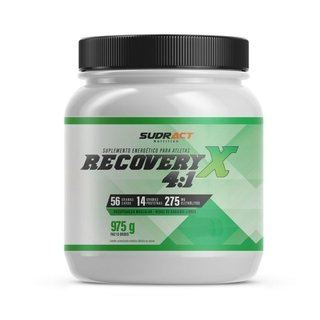 Pote Suplemento Sudract Recovery X 4:1 Chocolate - 975g