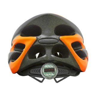 Capacete High One Volcano New c/ Led - Laranja