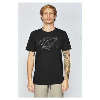 Camiseta T-Shirt Sense Bike Tech - Preto