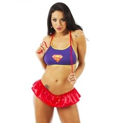 KIT MINI FANTASIA SUPER GIRL - CÓD 6085