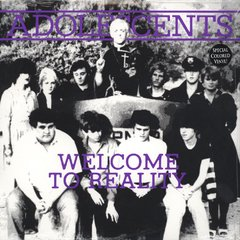 "Adolescents - Welcome To Reality 10'' (Vinilo 10"" Color)"