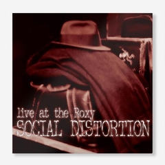Social Distortion - Live at the Roxy LP (Vinilo)