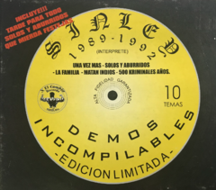 Sin Ley - Demos Incompilables (CD)
