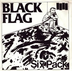 "Black Flag - Six Pack (Vinilo EP 12"")"