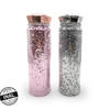 BOTELLA GLITTER TAPA DIAMANTE